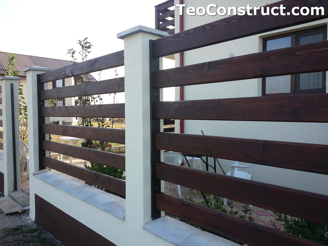 Garduri din lemn Valcea 7