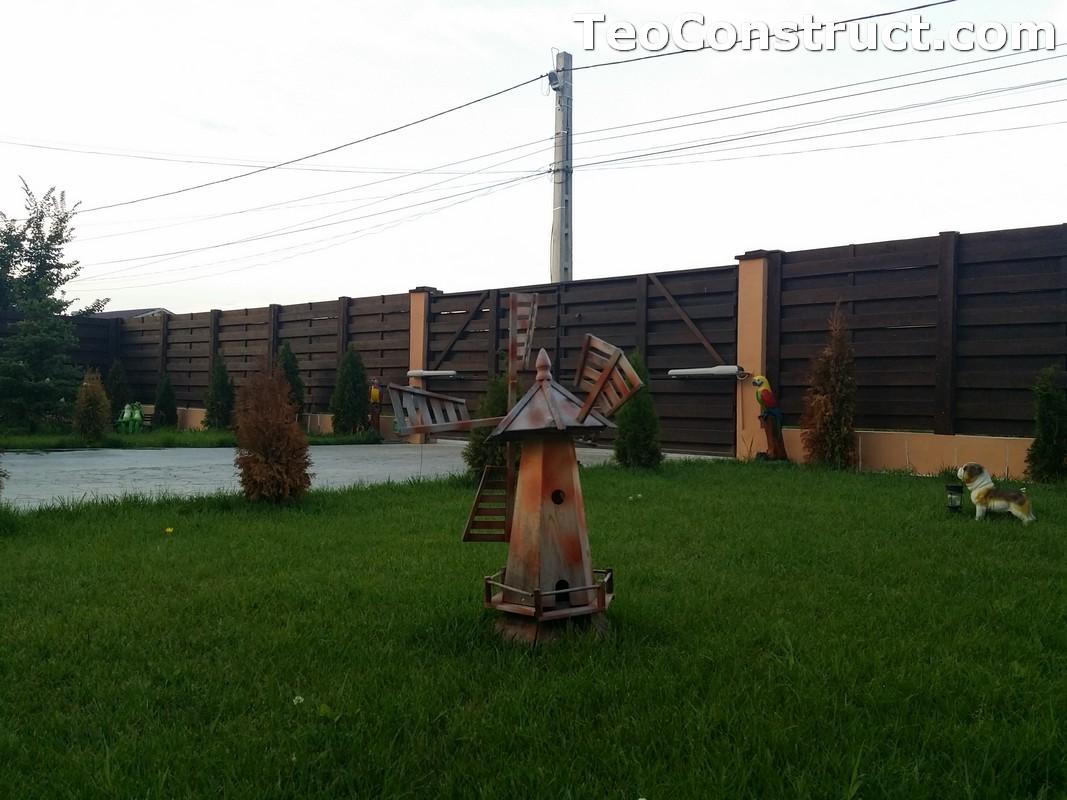 Garduri din lemn cu lamele orizontale9