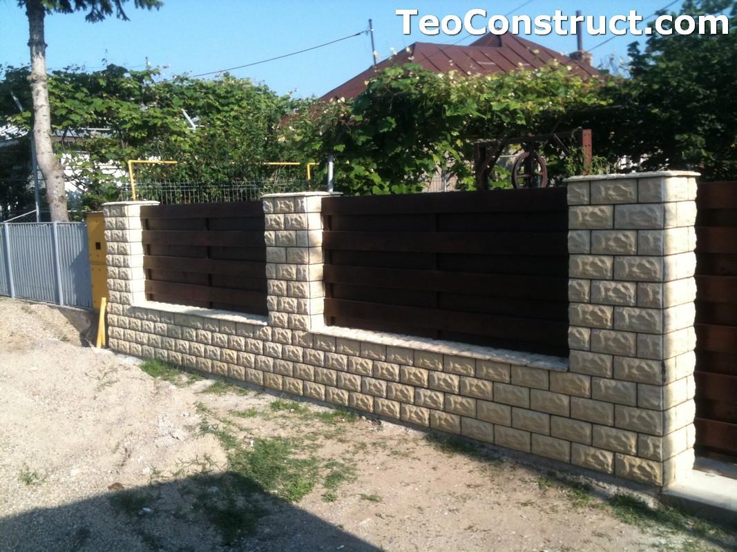 Garduri din lemn modele Buzau 10