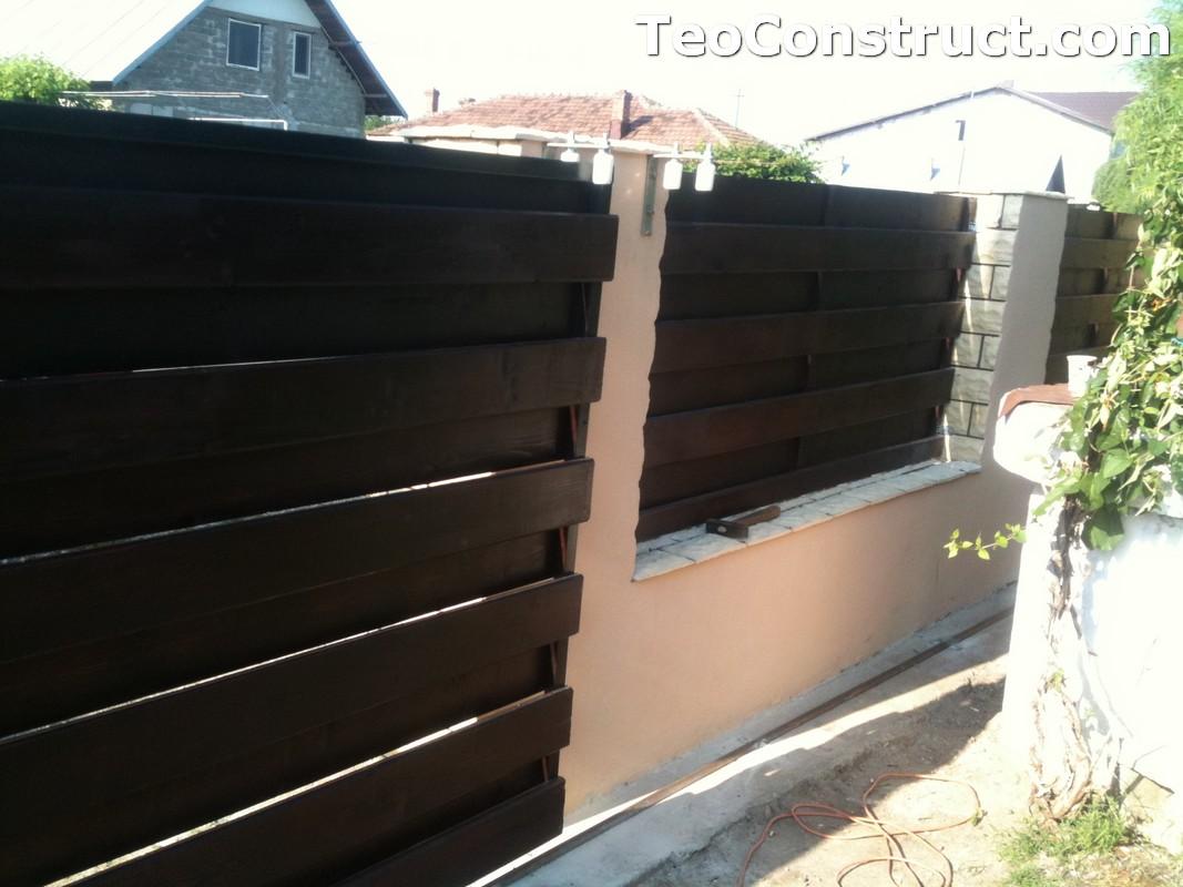 Garduri din lemn modele Buzau 13