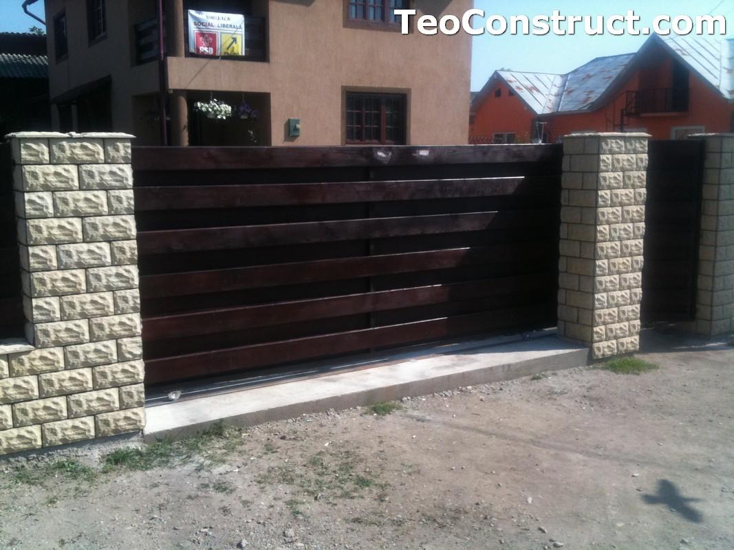Garduri din lemn modele Buzau 14