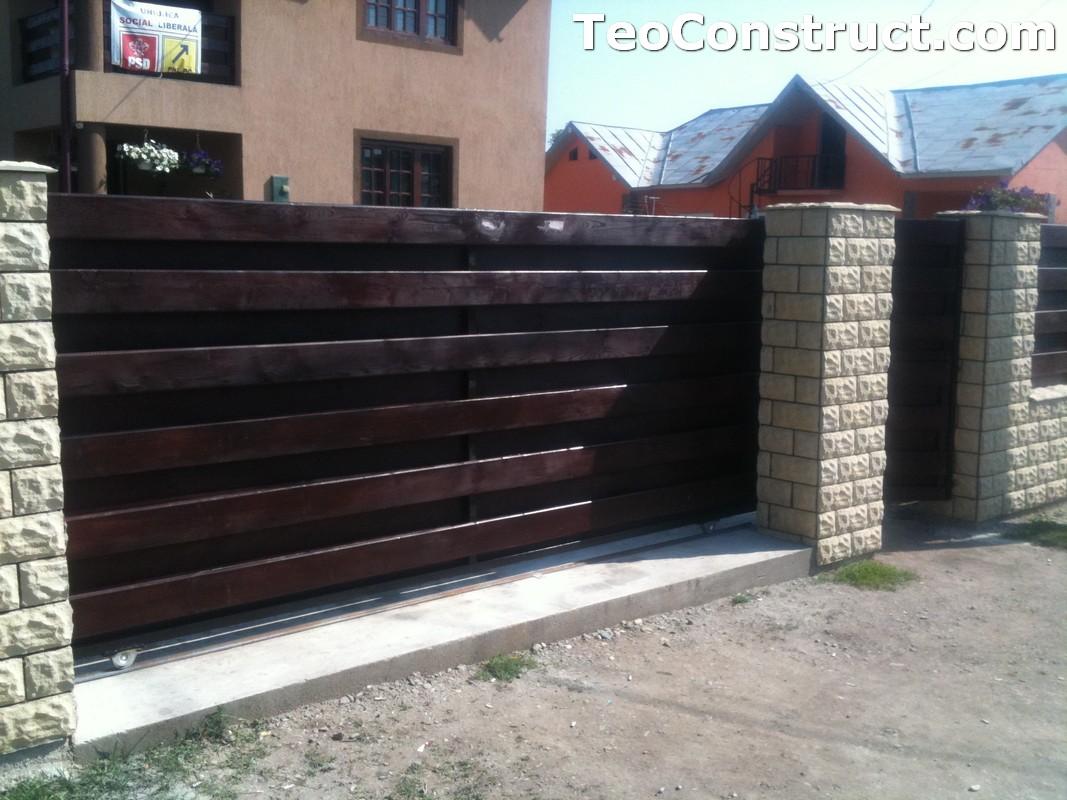 Garduri din lemn modele Buzau 15