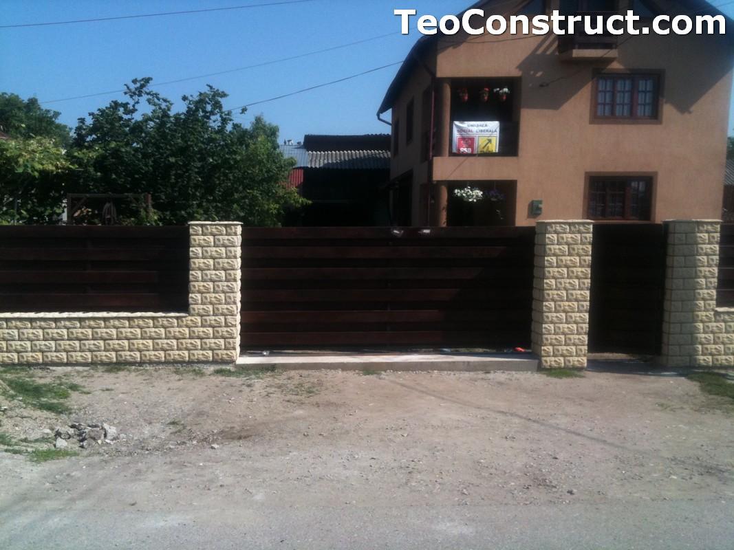 Garduri din lemn modele Buzau 17