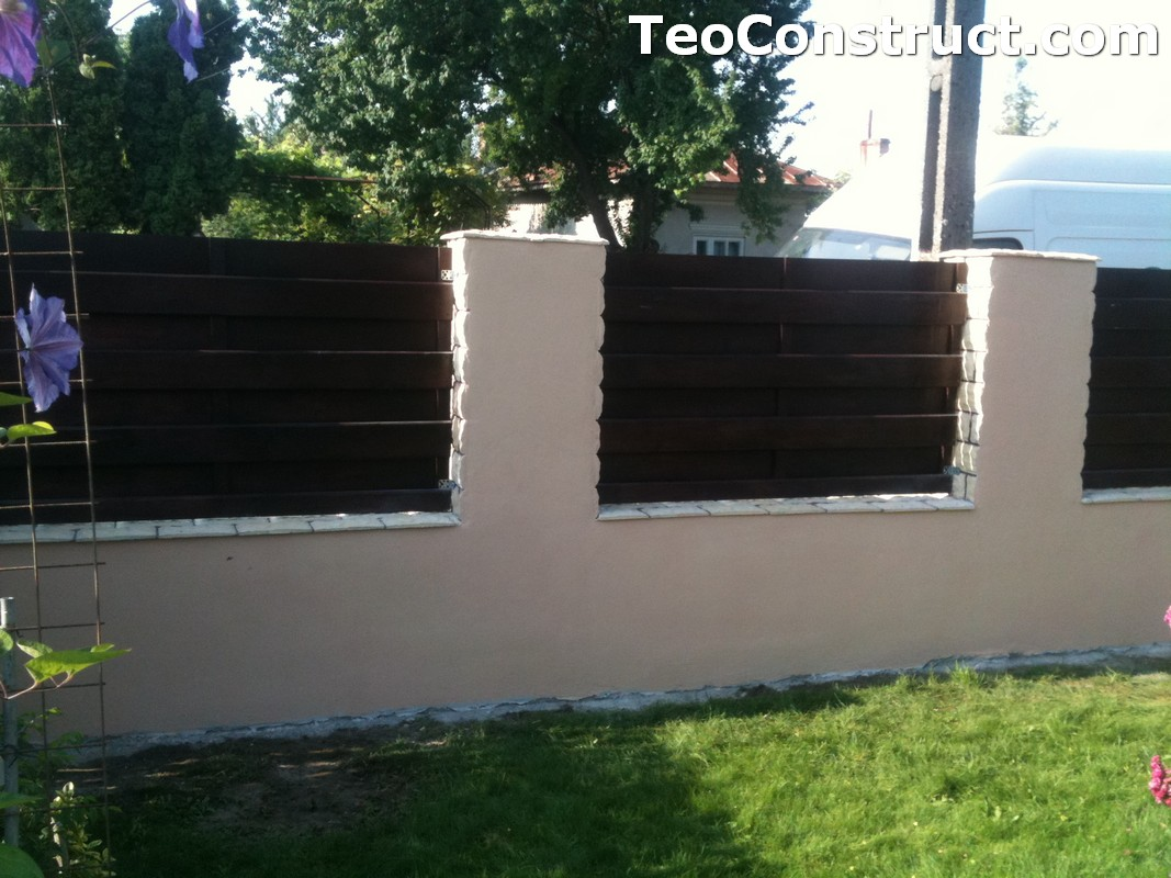 Garduri din lemn modele buzau foisoare din lemn garduri for Modele de garduri pentru case