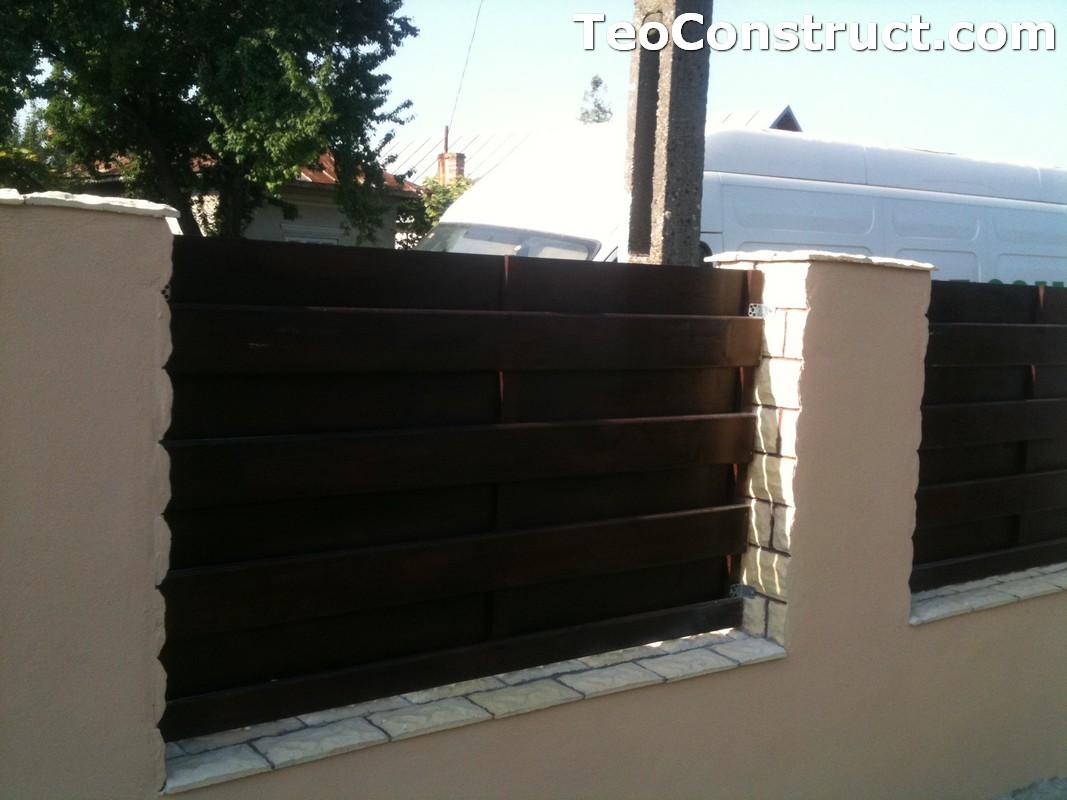 Garduri din lemn modele Buzau 3