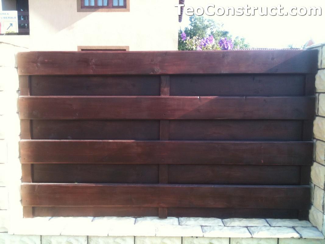 Garduri din lemn modele Buzau 5
