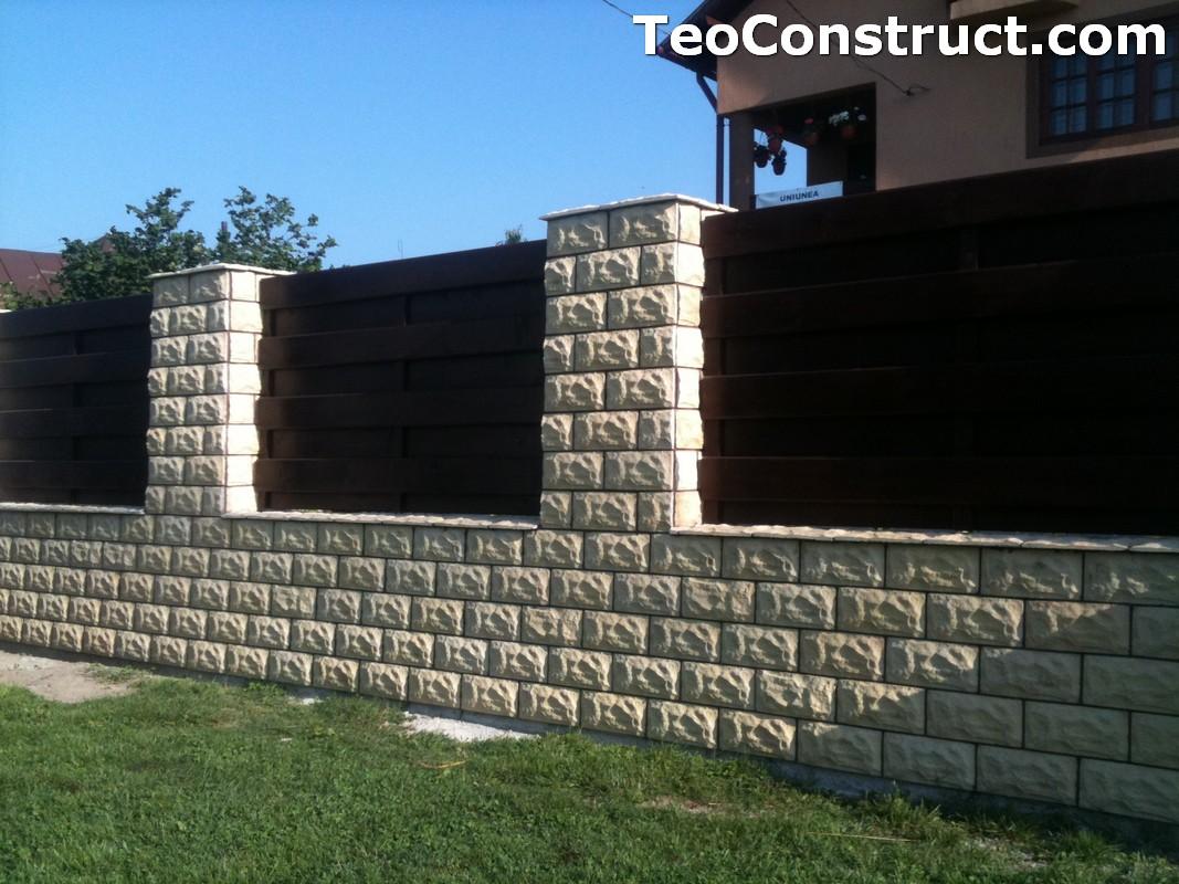 Garduri din lemn modele Buzau 8
