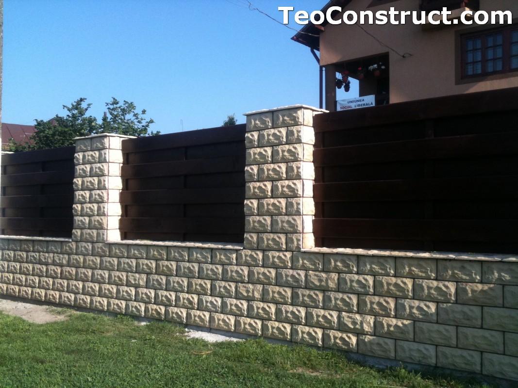 Garduri din lemn modele Buzau 9