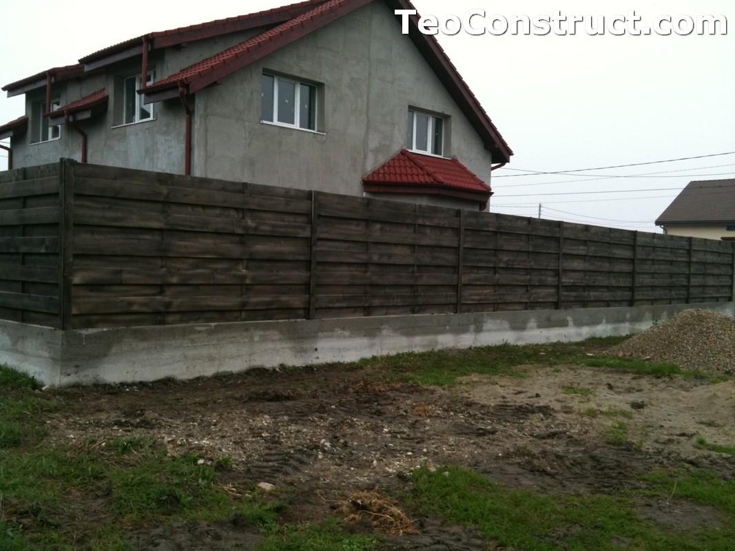 Garduri din lemn modele Giurgiu 1