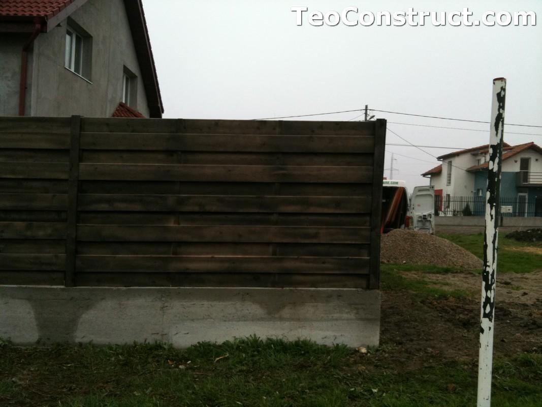 Garduri din lemn modele Giurgiu 3