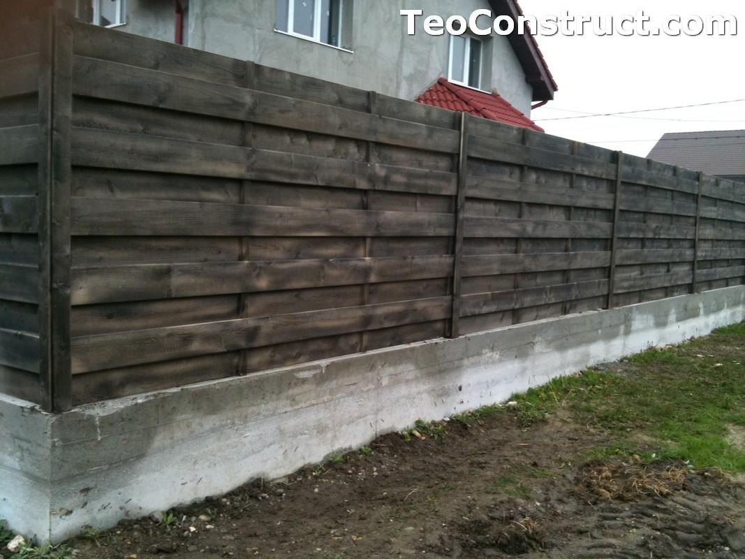 Garduri din lemn modele Giurgiu 4