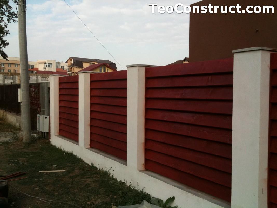 Garduri din lemn modele Pitesti 5