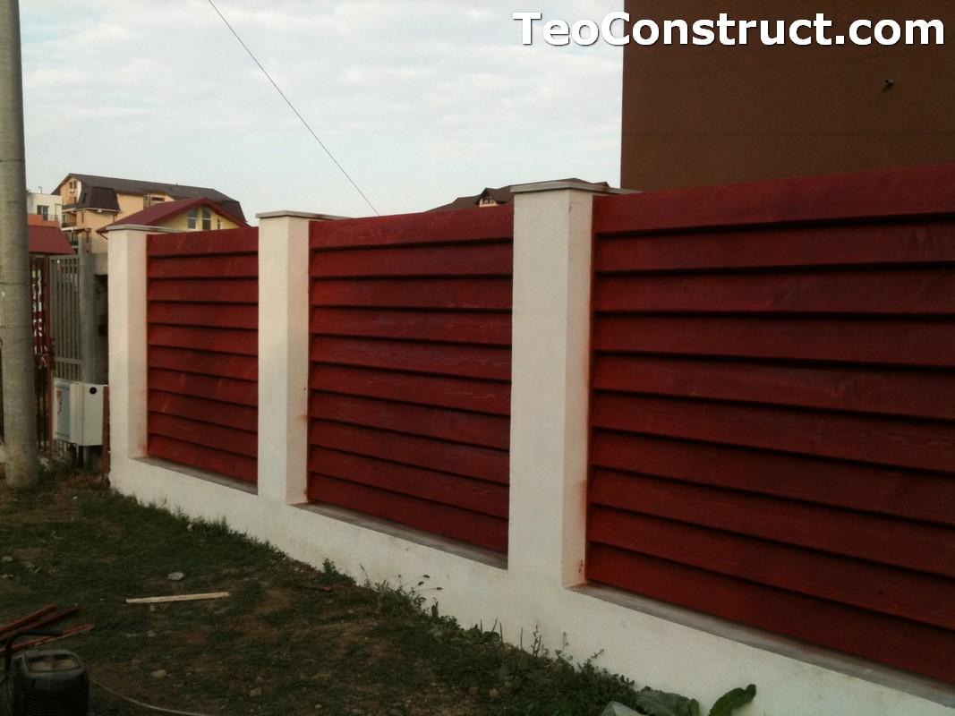 Garduri din lemn modele Pitesti 6