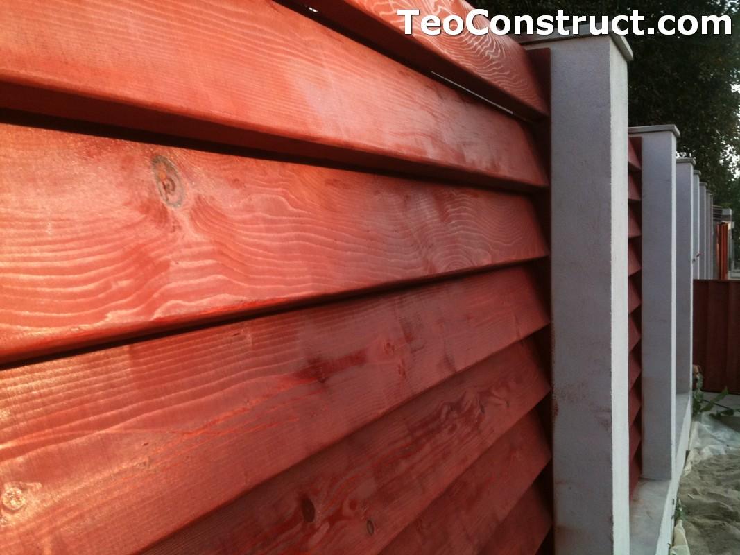 Garduri din lemn modele Pitesti 8