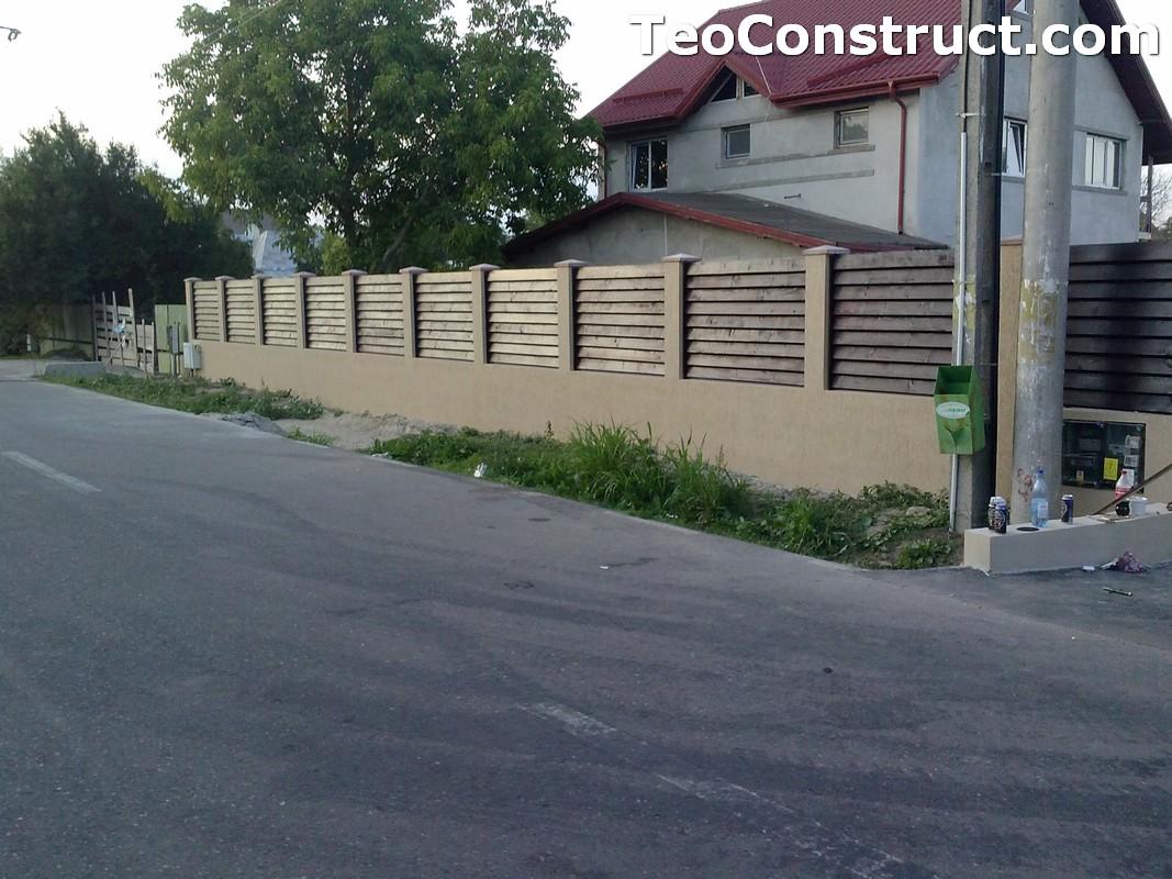 Garduri din lemn preturi Brasov 1