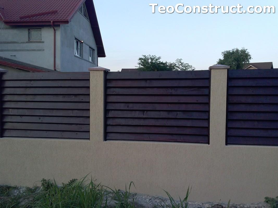 Garduri din lemn preturi Brasov 10