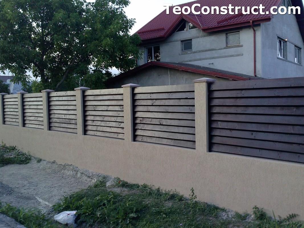 Garduri din lemn preturi Brasov 11