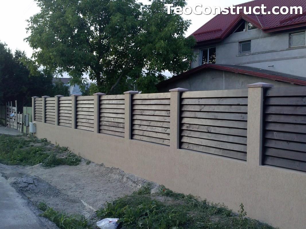 Garduri din lemn preturi Brasov 12