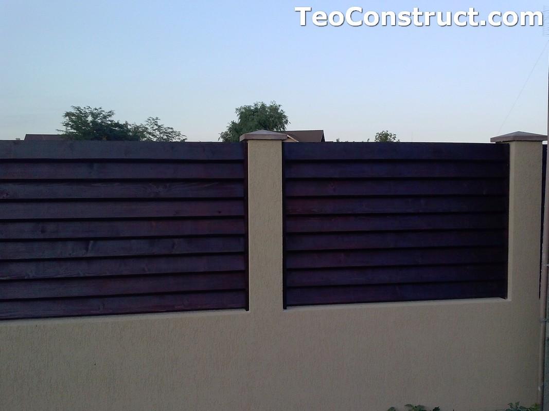 Garduri din lemn preturi Brasov 13