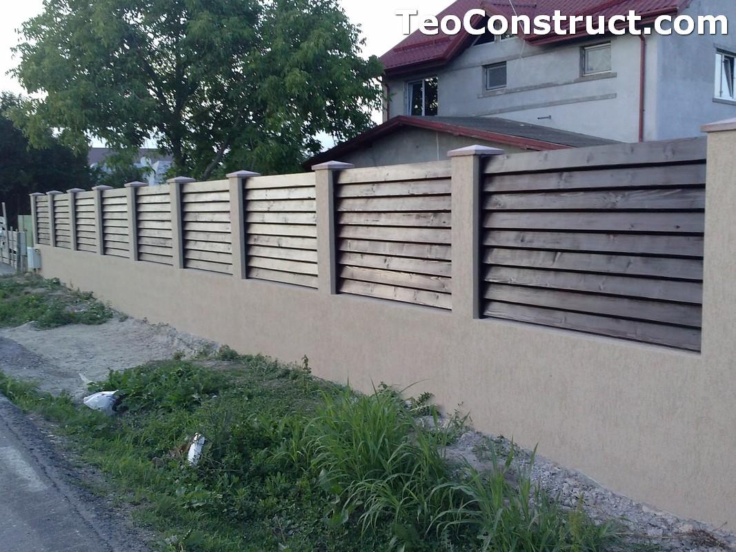 Garduri din lemn preturi Brasov 15