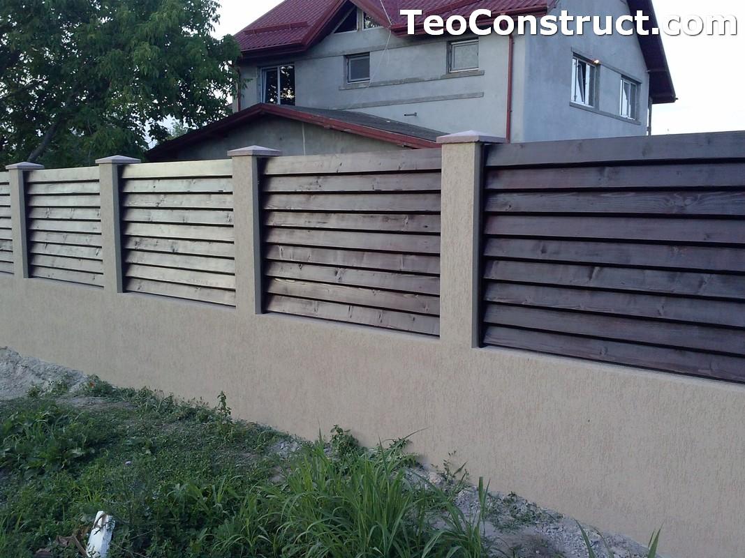 Garduri din lemn preturi Brasov 3