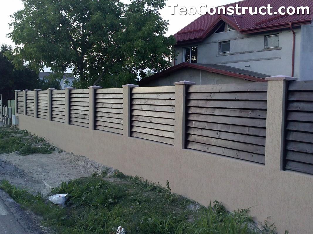 Garduri din lemn preturi Brasov 4