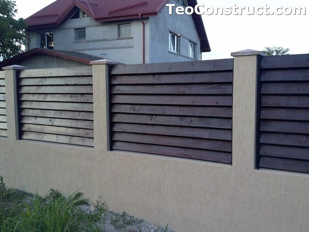 Garduri din lemn preturi Brasov 6