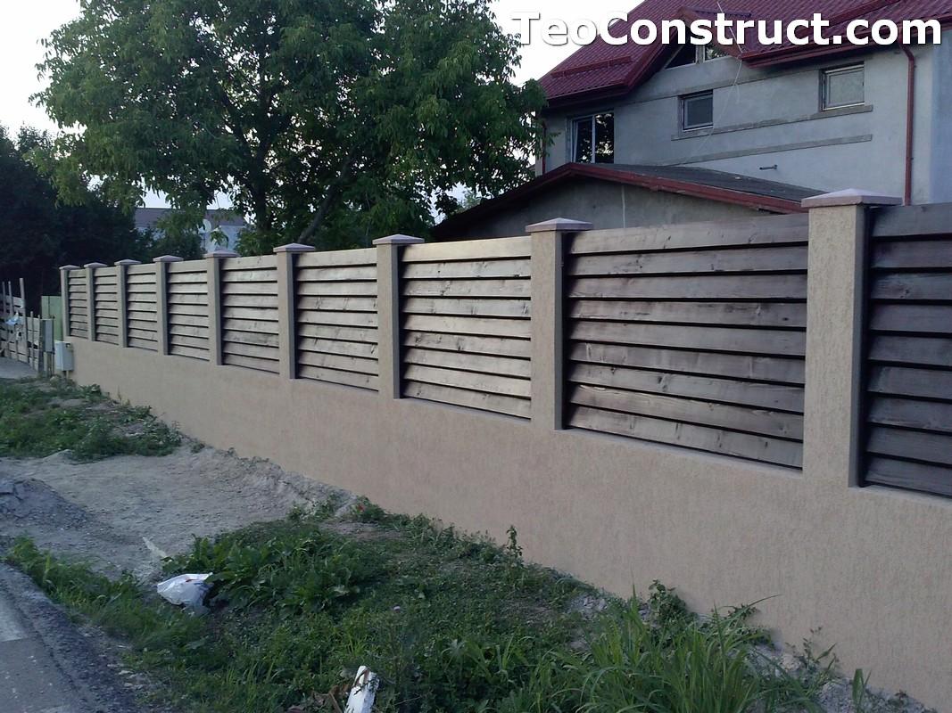 Garduri din lemn preturi Brasov 7