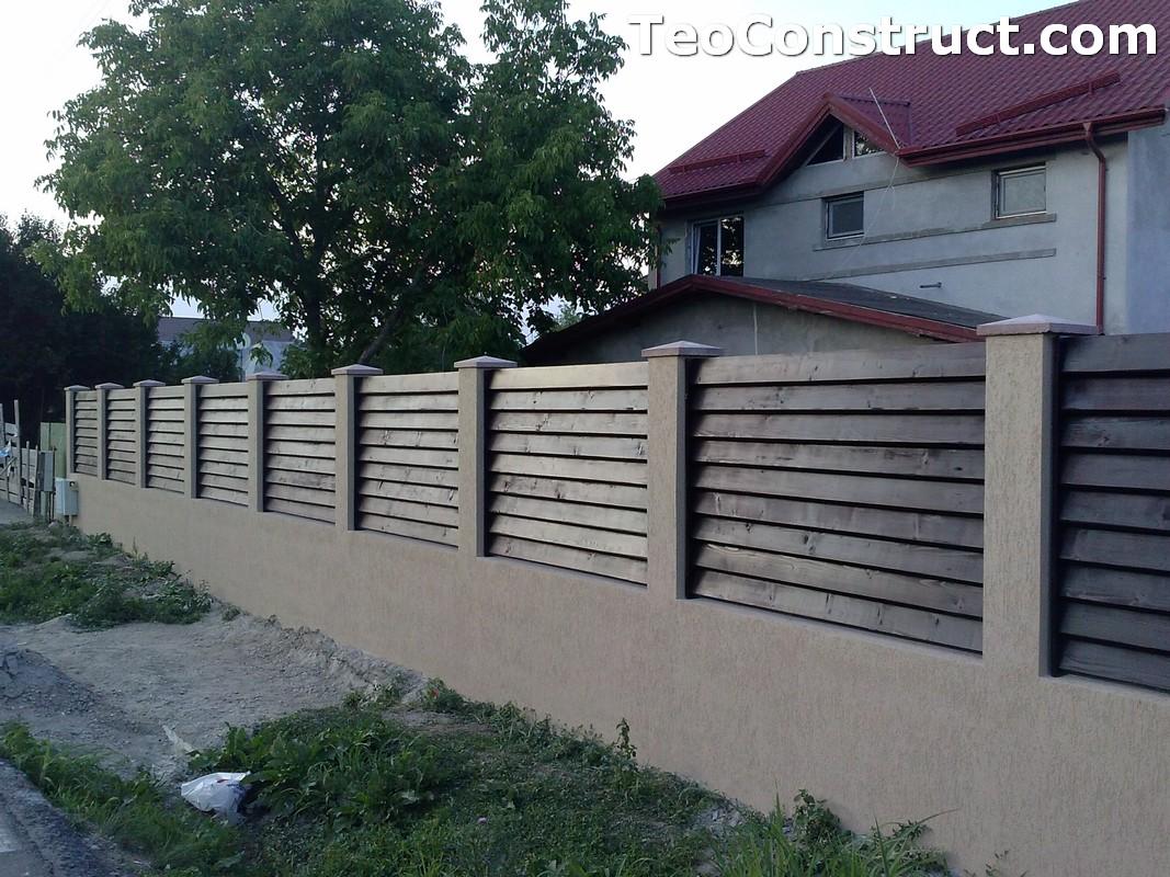 Garduri din lemn preturi Brasov 9