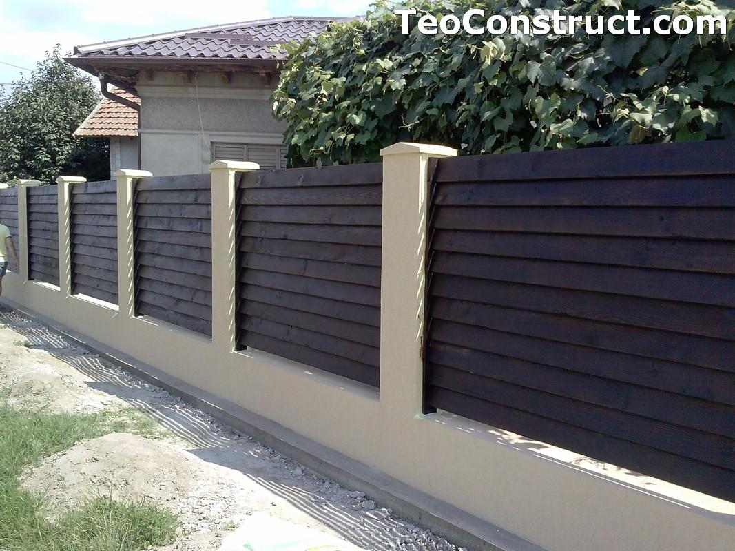 Garduri din lemn preturi Iasi 2