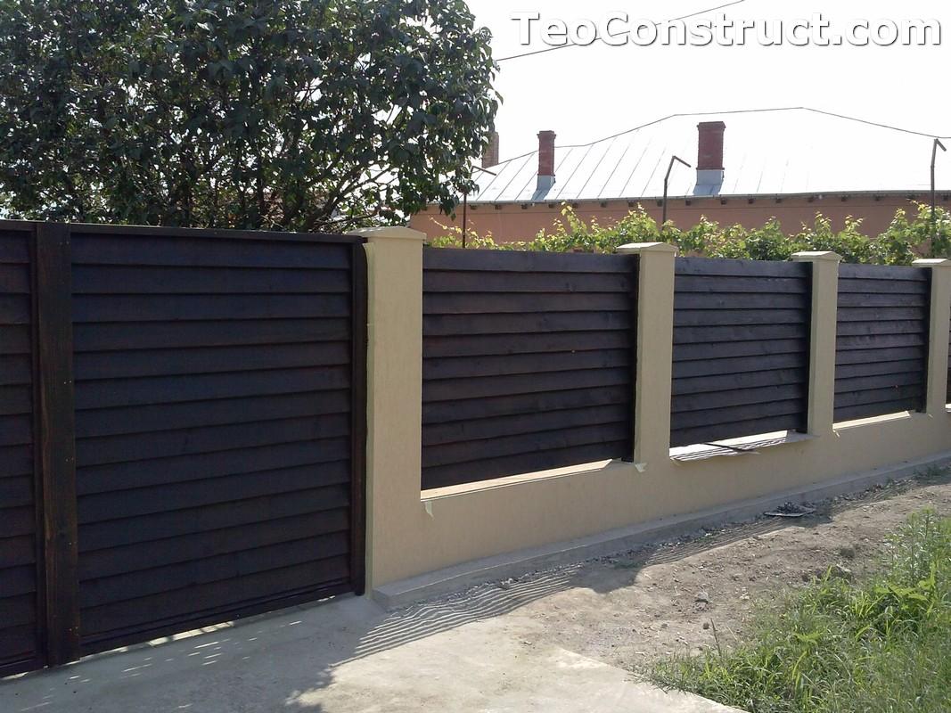 Garduri din lemn preturi Iasi 5