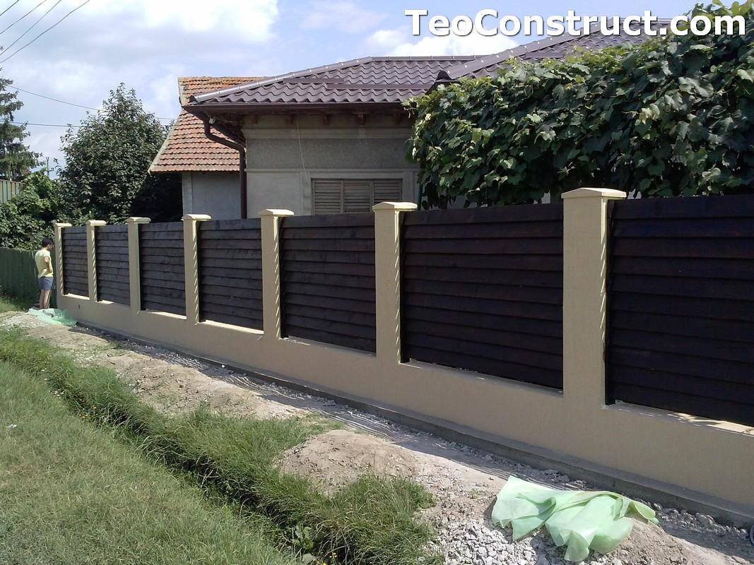 Garduri din lemn preturi Iasi 6
