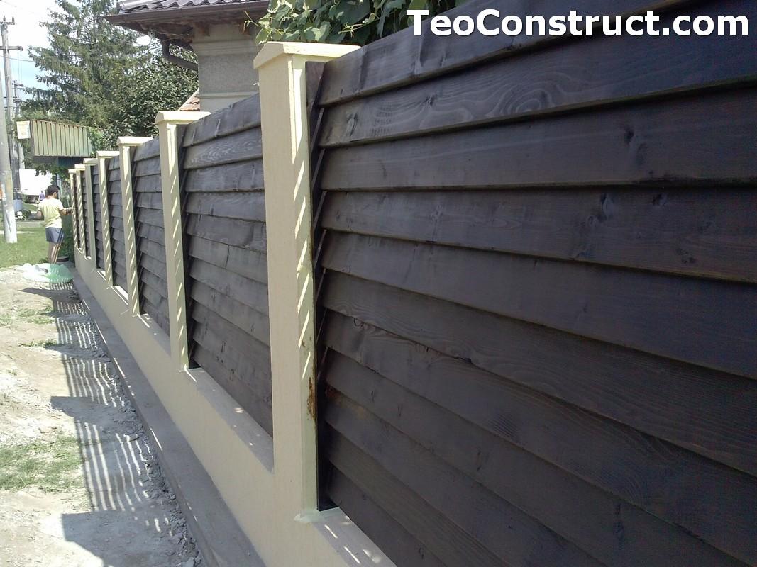 Garduri din lemn preturi Iasi 7