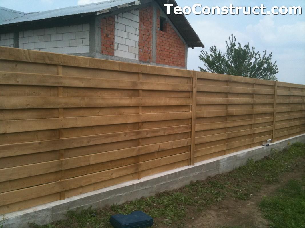 Garduri din lemn preturi Urziceni 1