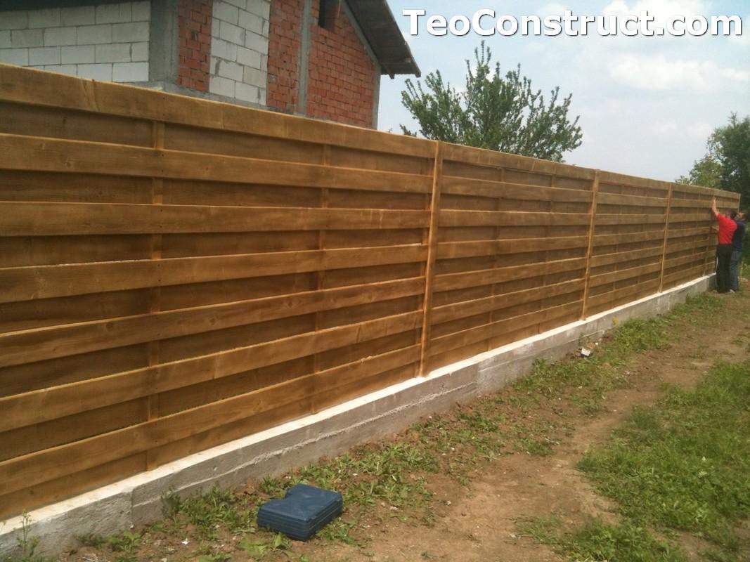 Garduri din lemn preturi Urziceni 3
