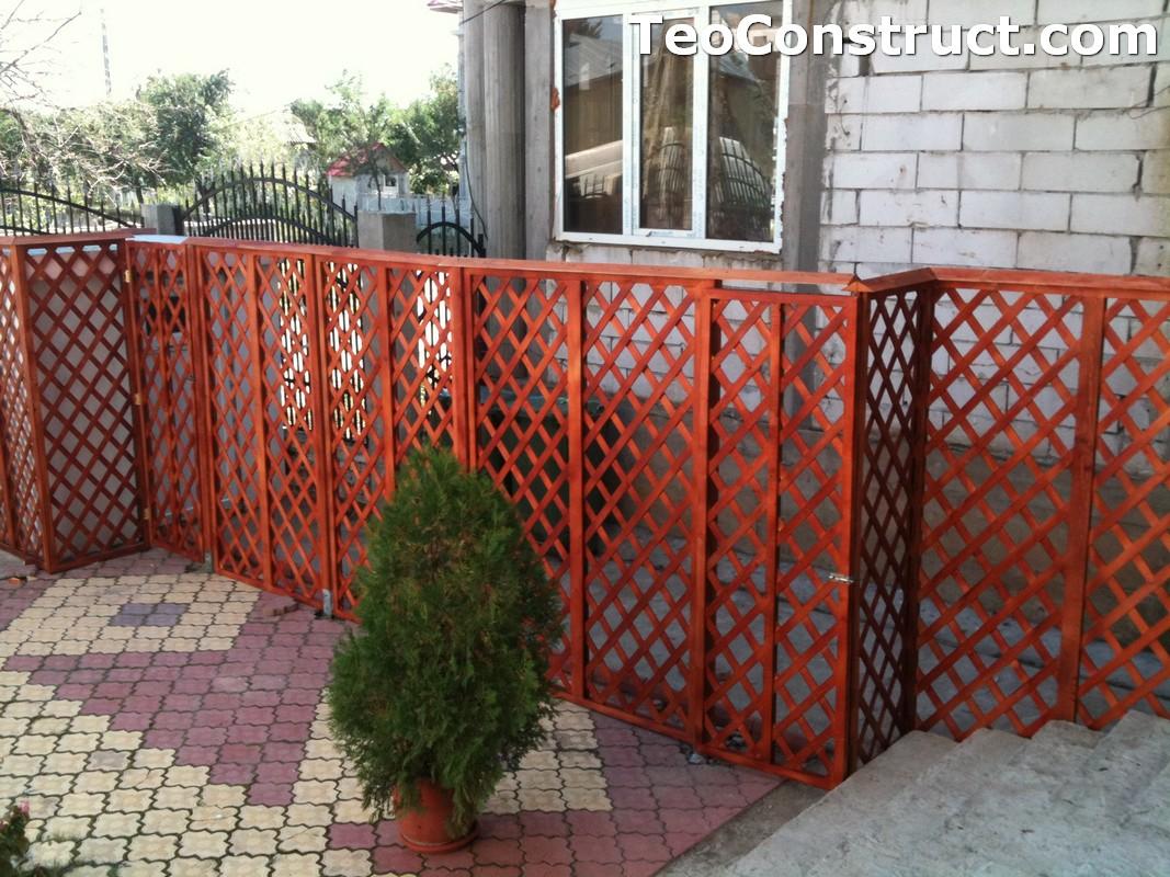 Garduri lemn Alexandria 1