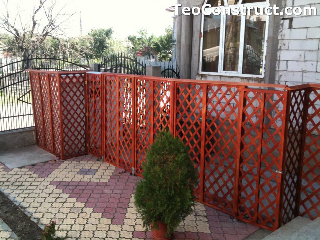 Garduri lemn Alexandria 2
