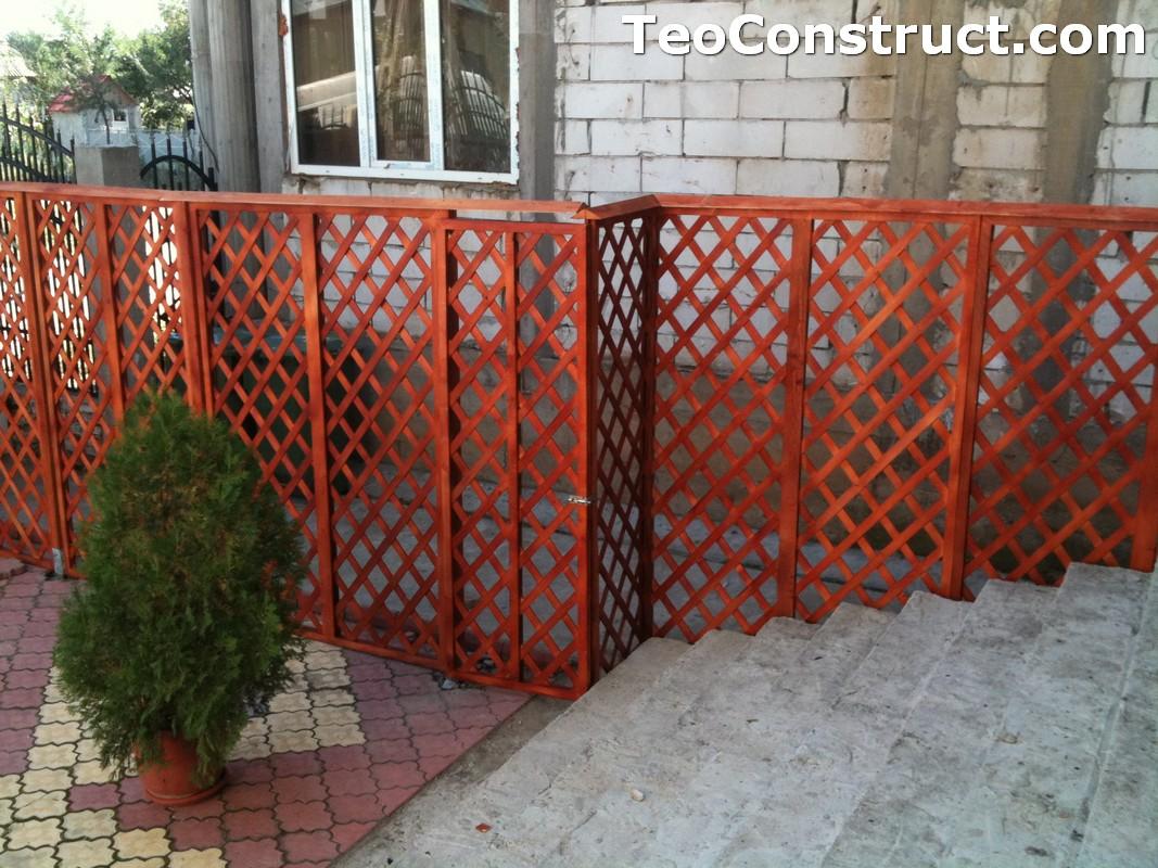 Garduri lemn Alexandria 3