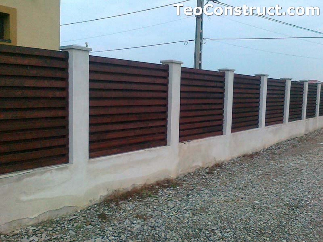 Garduri lemn Calarasi 1