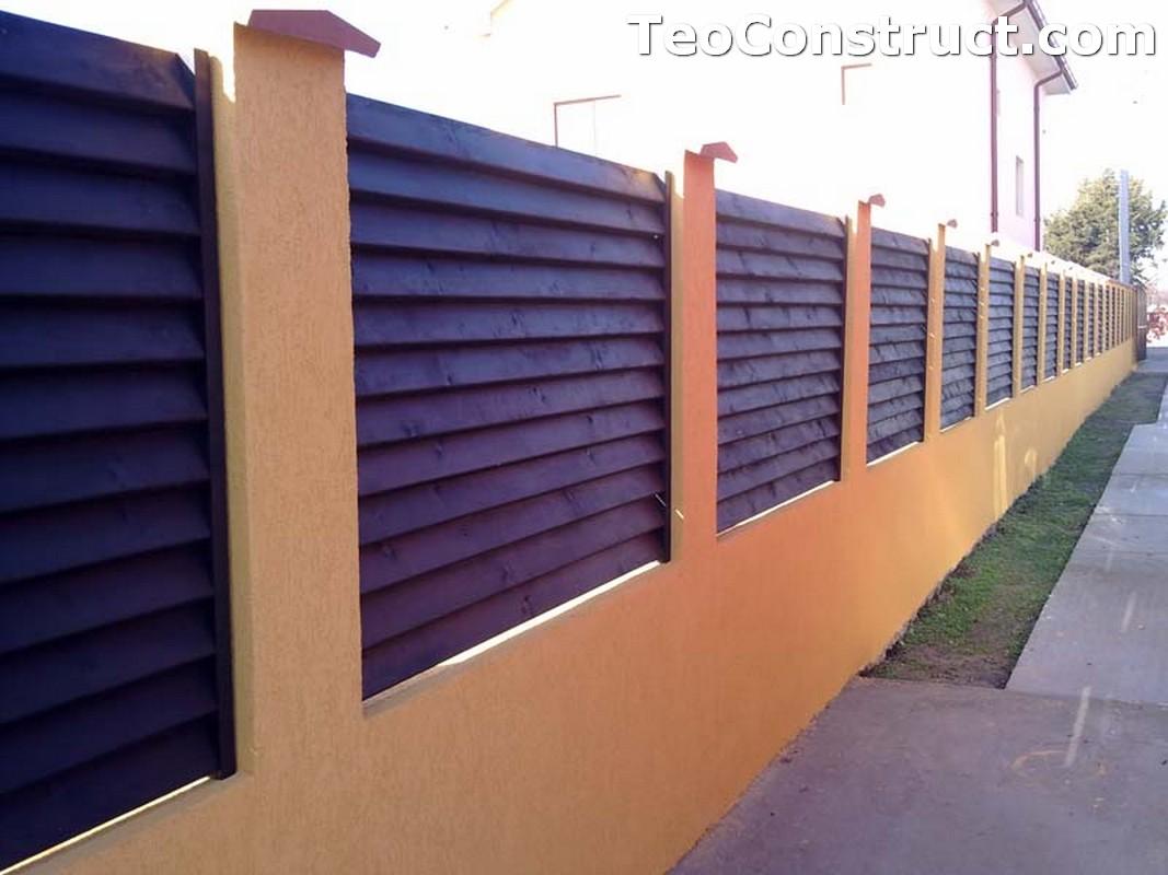 Garduri lemn Constanta 1