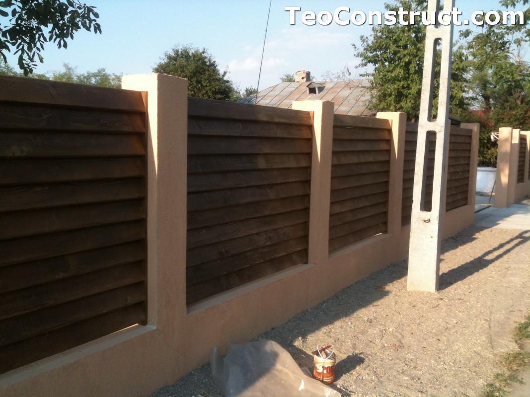 Garduri lemn Galati 1