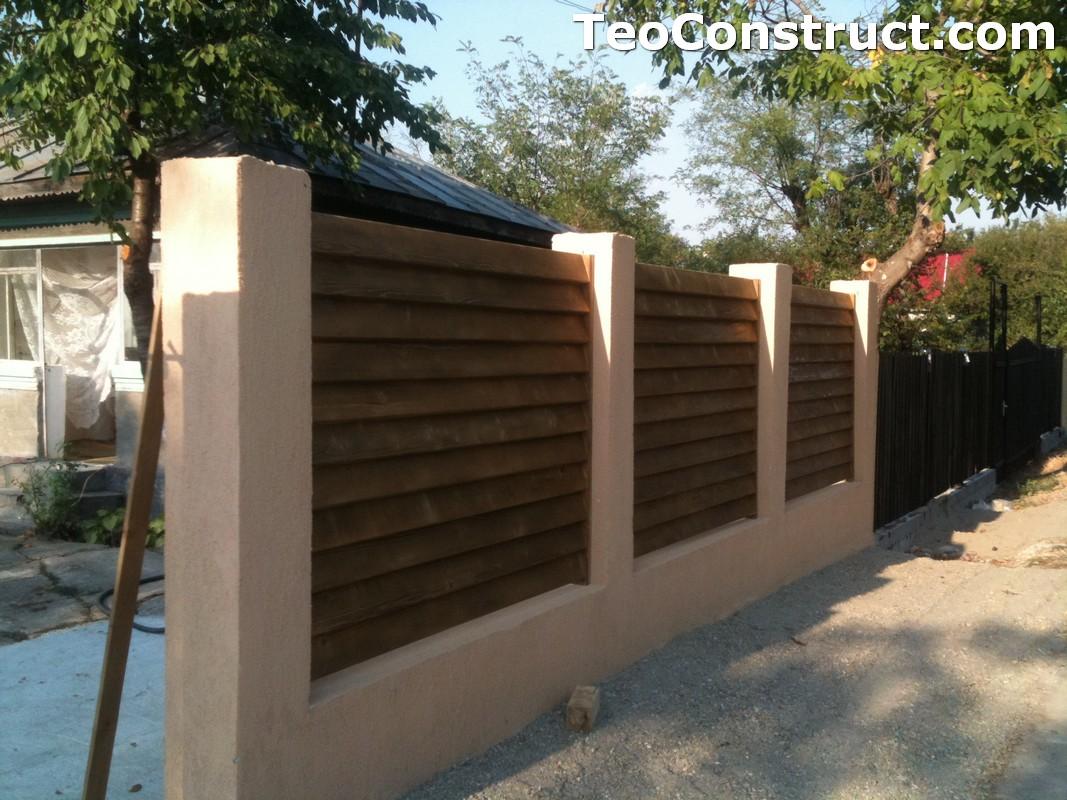 Garduri lemn Galati 10