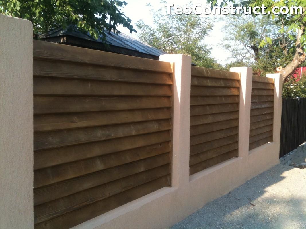 Garduri lemn Galati 11