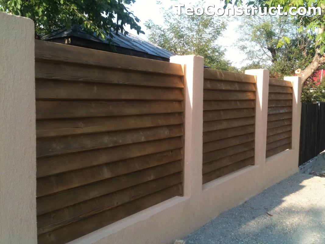 Garduri lemn Galati 12