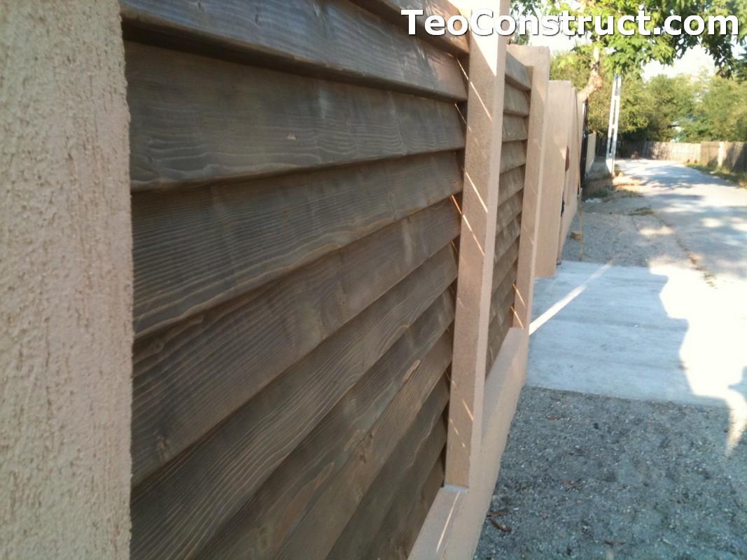Garduri lemn Galati 14