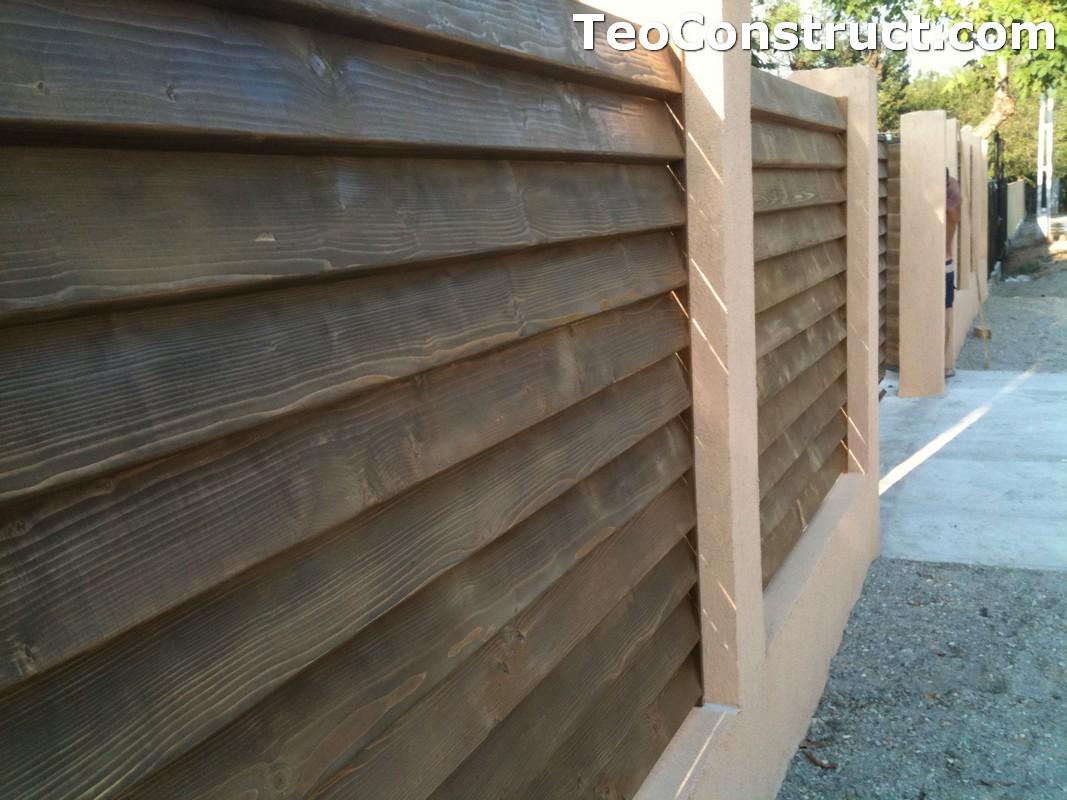 Garduri lemn Galati 15