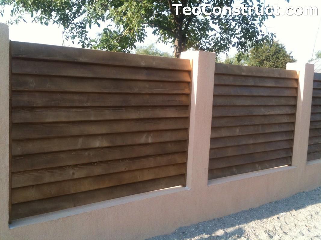 Garduri lemn Galati 2