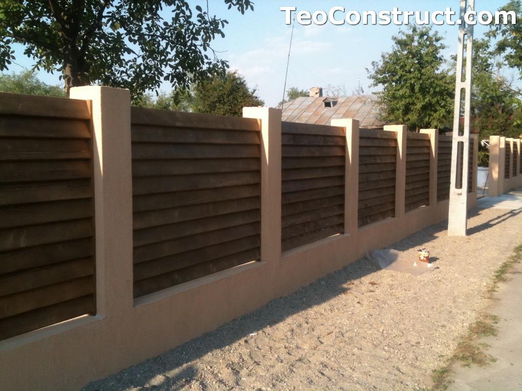Garduri lemn Galati 3