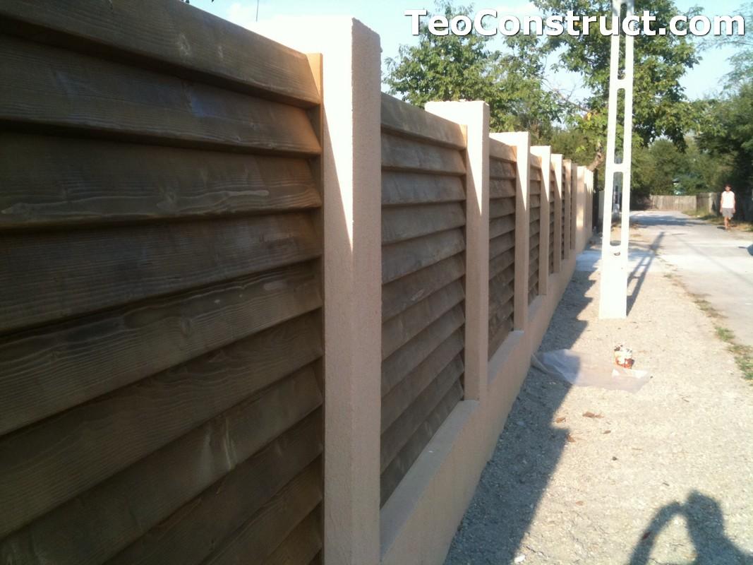 Garduri lemn Galati 4