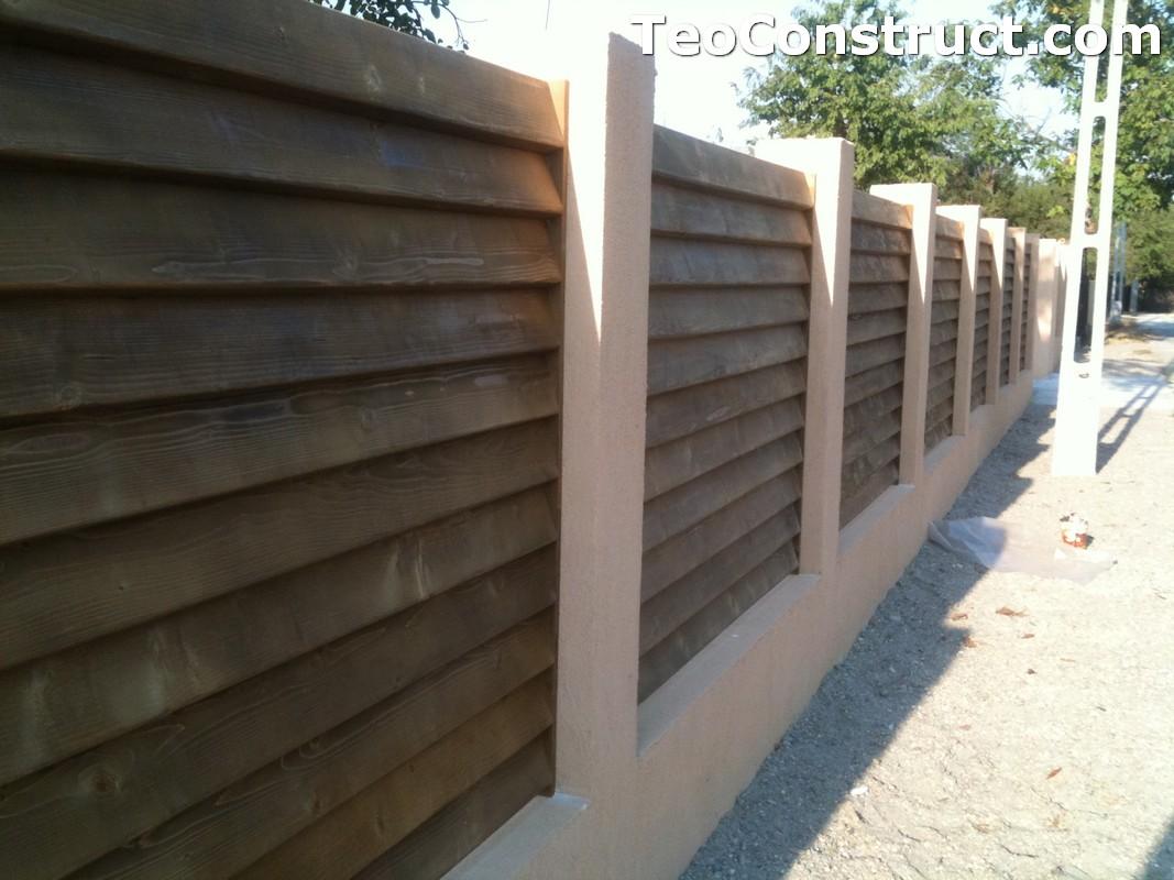 Garduri lemn Galati 5